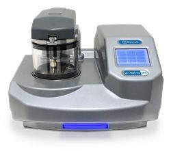 Metalizador con capacidad glow discharge